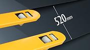 Sumo S系列高剛性唧車,520mm標準叉闊
