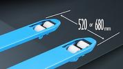 BM系列日製唧車,520mm或680mm常見叉闊