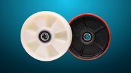 BG 鍍鋅唧車,方向輪可選用尼龍或PU
