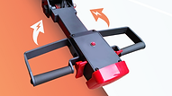 FW鏟車式堆高機,可選擇予設的手動式轉向, 或提升至電動式轉向