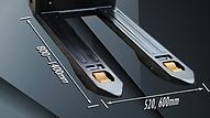 FW抗衡型堆高機,可由予設的900W行車馬達提升至更高出力的1600W