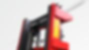 VD半電動堆高機,採用德國高剛性排架(VD1300以上),特厚車架及車叉