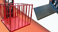 VD半電動堆高機,可由貨叉轉為貨籠或平台