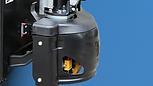 M系列半電動唧車,附設驅動部份保護殼