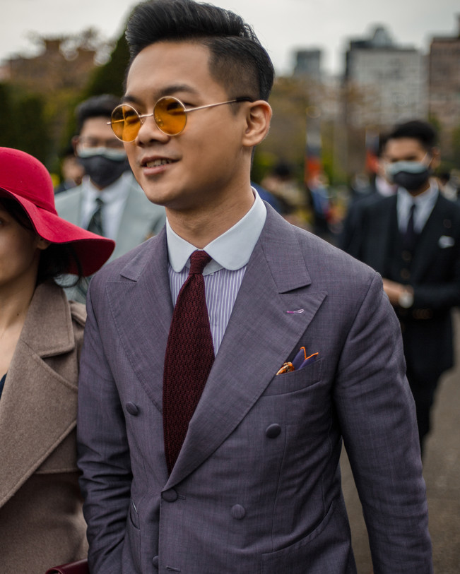 2020 GQ Suit Walk 紳士遊行