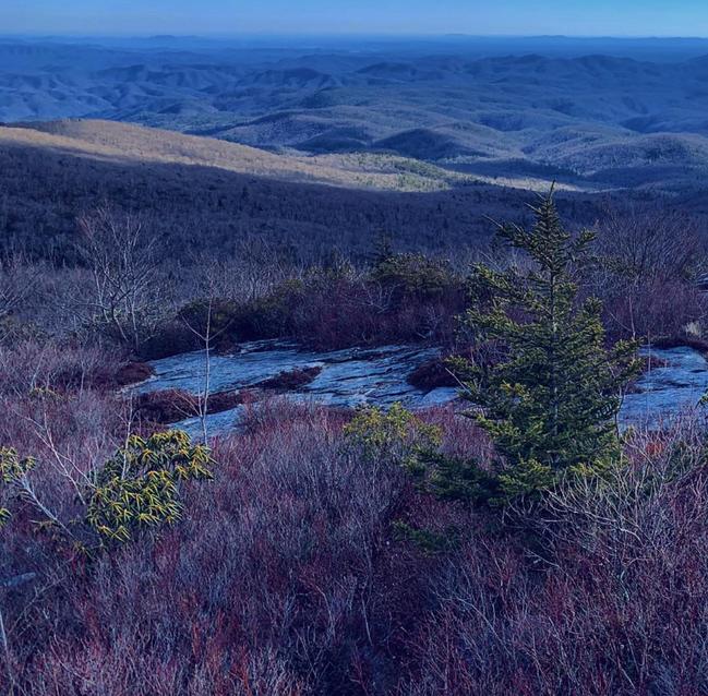 Rough Ridge Hiking Trail