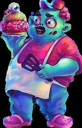 sieben von sieben Chef Zombie