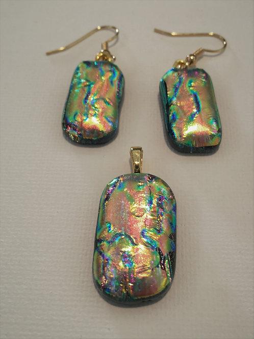 Double Dichroic Gold on Rainbow