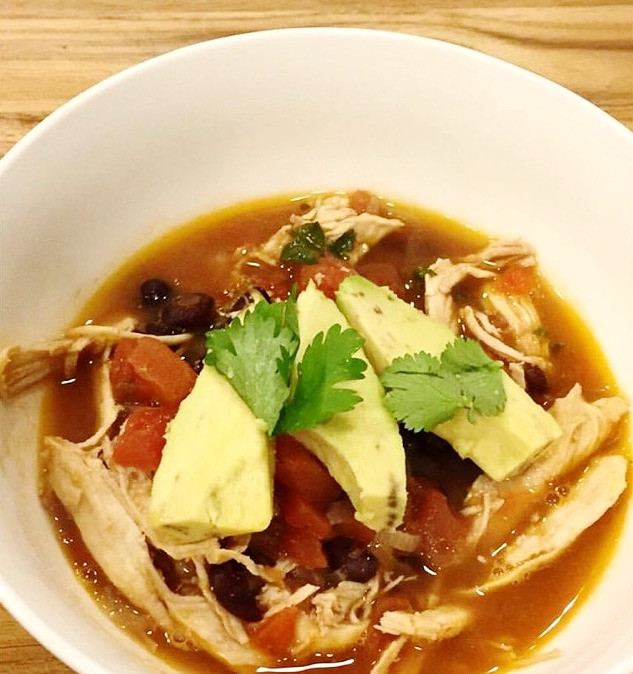 THE SAVORY SOUL • MEXICAN CHICKEN SOUP