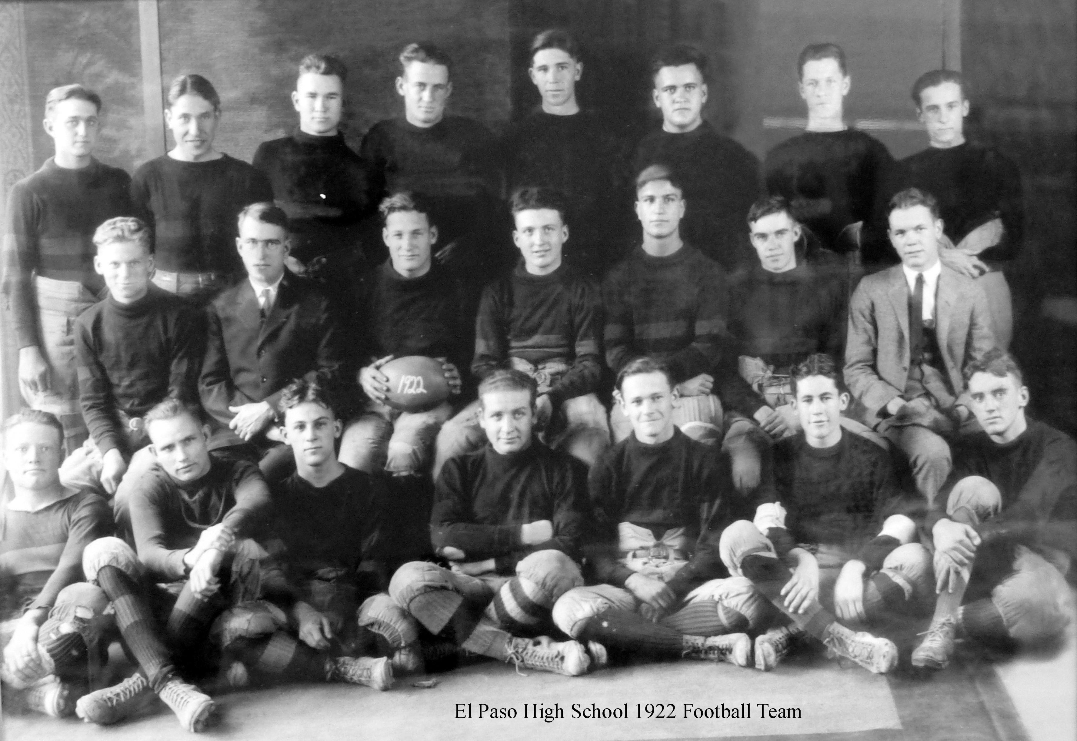 EPHS_1922 Football Team