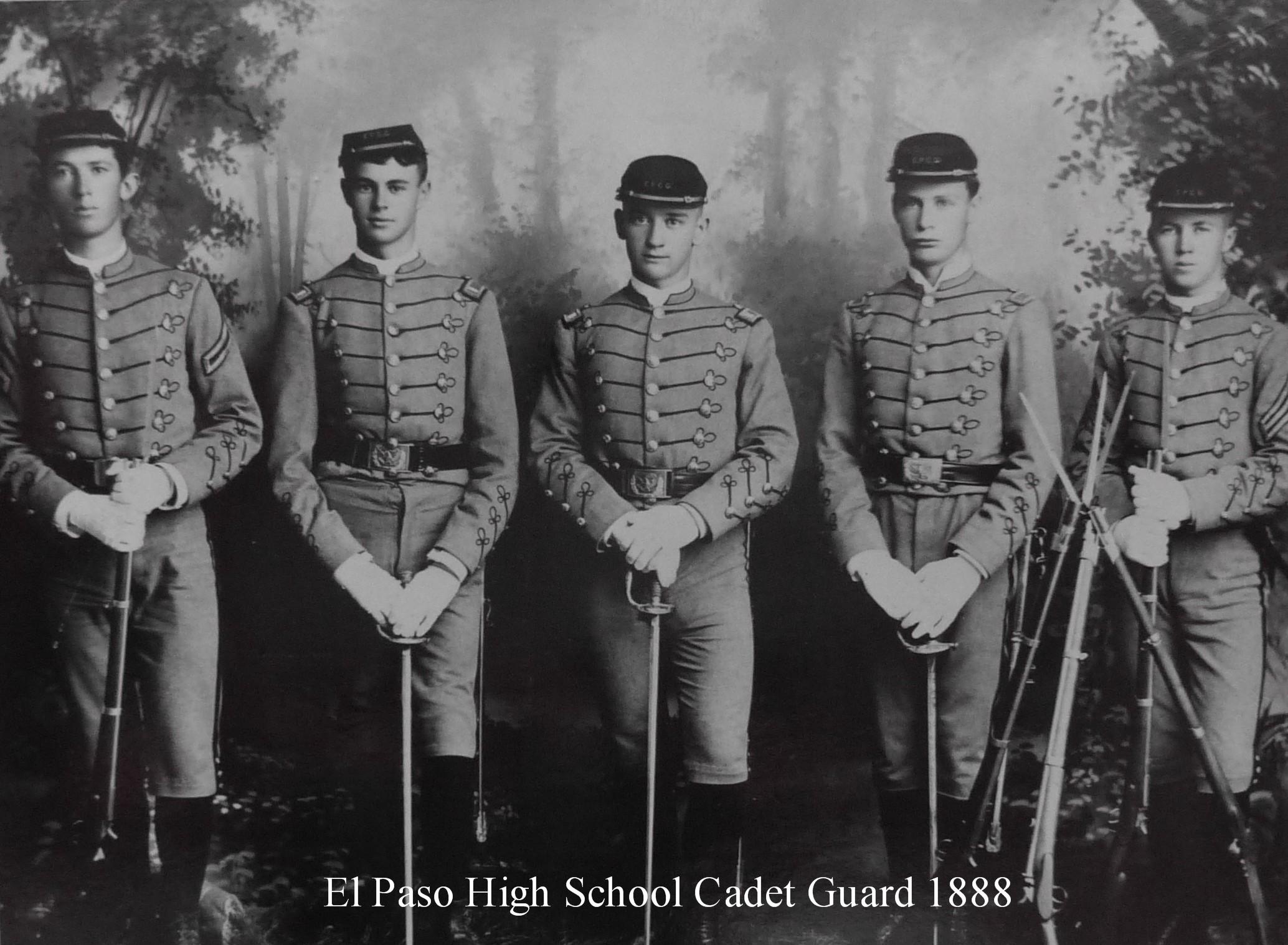 EPHS_Cadets 1888