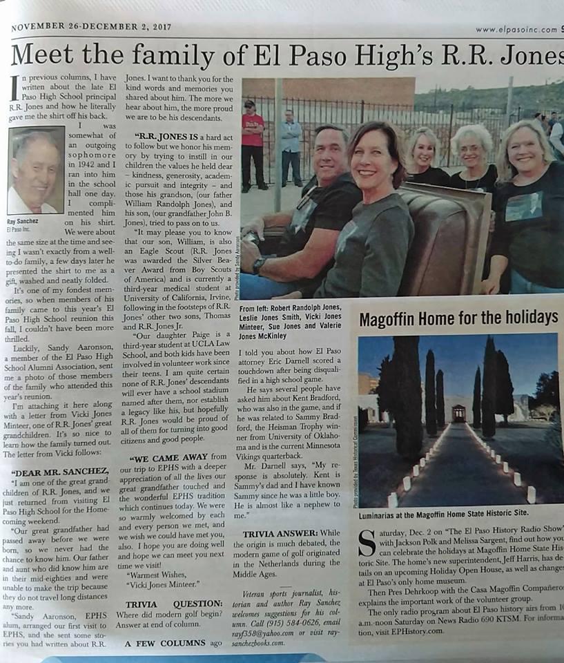 RR Jones Family