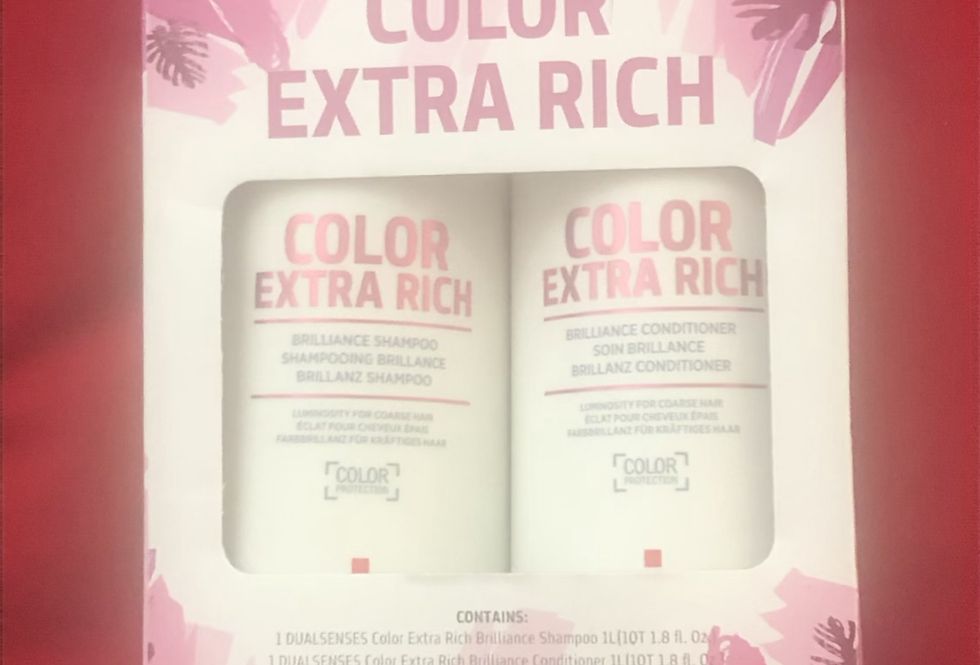 Goldwell Dualsenses Color Extra Rich Brilliance Shampo and Conditioner Duo