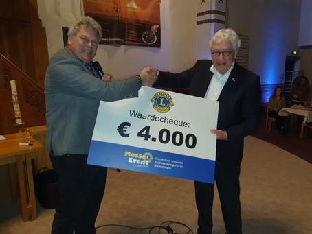 Lions Mosselevent 2019 in Adventskerk groot succes