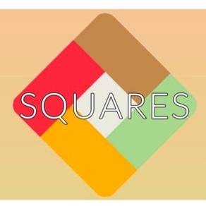 SQUARES - 2D Rubick's cube