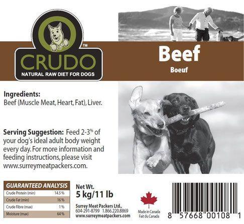 Crudo Plain Beef