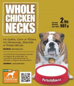 Perfectly Raw Whole Necks - 16lbs Frozen Wholesale