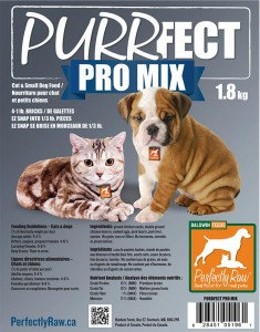 Perfectly Raw Purrfect Pro Mix - 32lbs Frozen (EZ-Snap) Wholesale