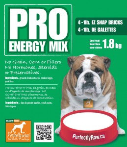 Perfectly Raw Pro Energy Mix CHICKEN - 32lb box