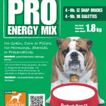 Perfectly Raw Pro Energy Mix (Chicken) - 32lbs (16x2lb) Frozen Wholesale