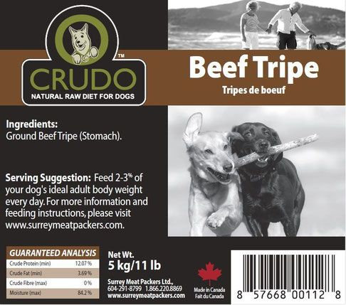 Crudo Beef Tripe