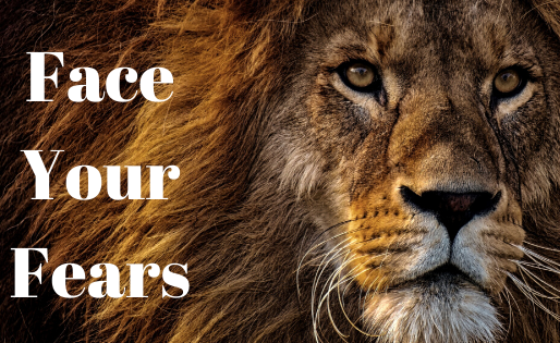 Face Your Fears With The Lion