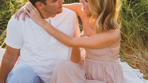 Rachel + Tanner Sunset Engagment