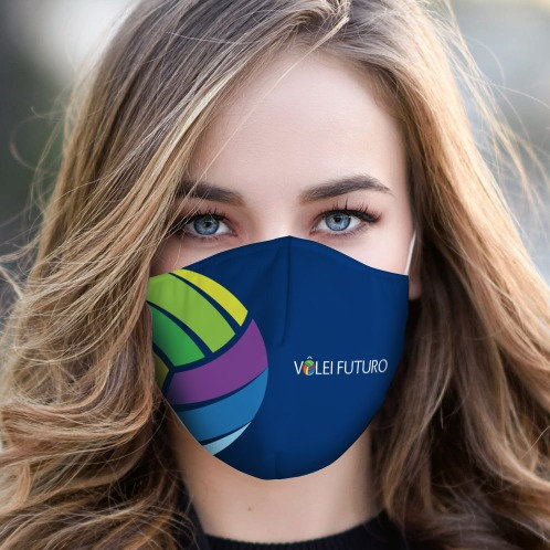Máscara em tecido duplo - Mod09