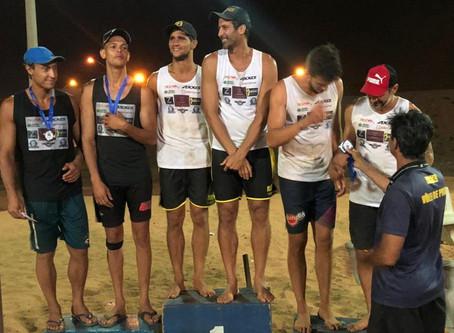 Vôlei Futuro na Areia fica em 3º lugar na Copa São Paulo