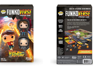 【Funko】《回到未来》策略桌游