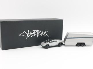 特斯拉Cybertruck+概念拖挂房车