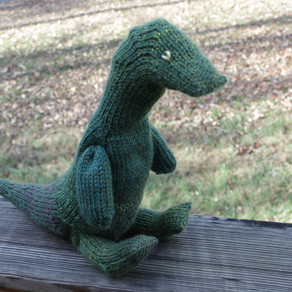 Jointed Dino Pattern