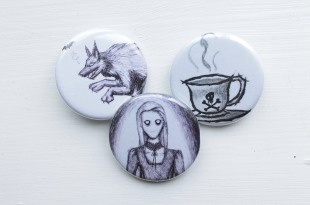 Spooky Badges