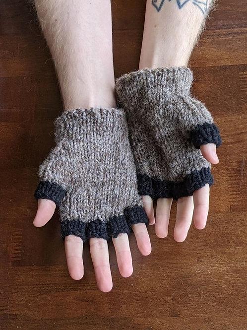 Fingerless Gloves - Trash Panda