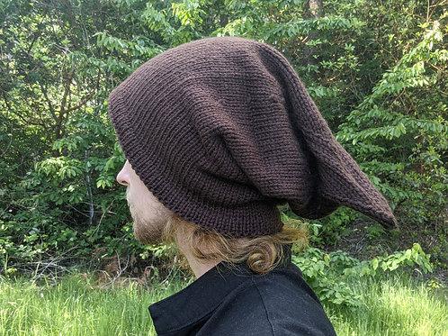 Goblin Hat - Solid Brown