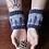 Thumbnail: Sentinel Cuffs - Grey/Blue
