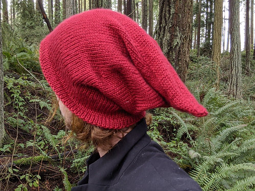 Goblin Hat - Solid Red