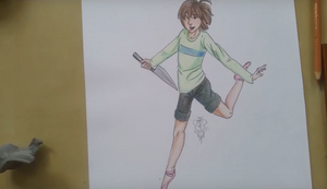 Chara in Ballet Slippers