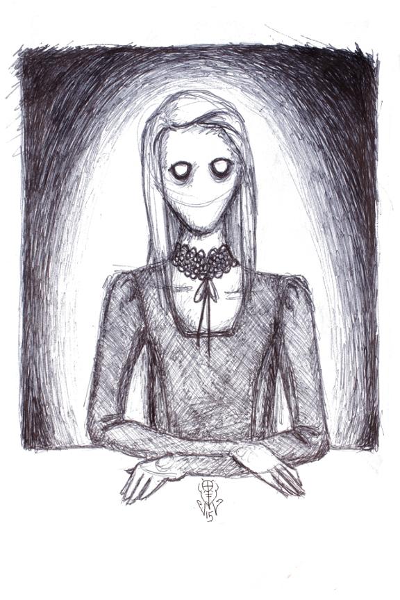 Staring Mary