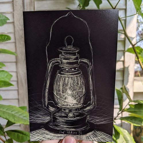 """Lantern- 4x6"""" Print"""