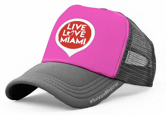 Live Love Miami Trucker Cap