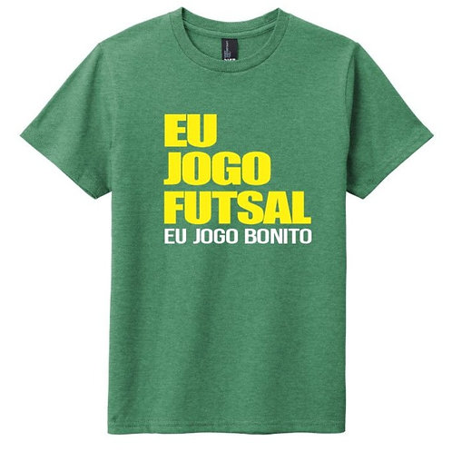 Eu Jogo Futsal Tee - Green