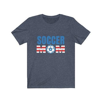 Soccer Mom T-shirt   USA Soccer Tee   Unisex Soccer shirt