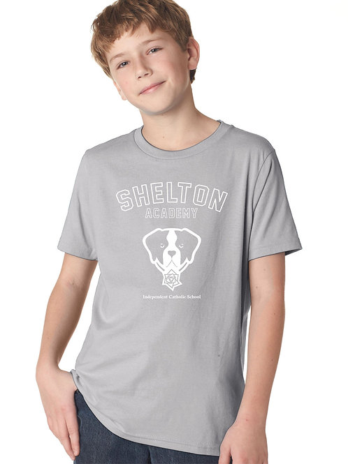 Shelton Academy - Gray Barry Kids Tee