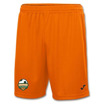 Orange Home Shorts