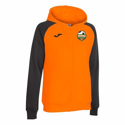 Orange Hooded Jacket -GIRLS