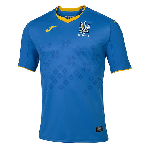 Official 2020/2021 Authentic Ukraine Away Jersey