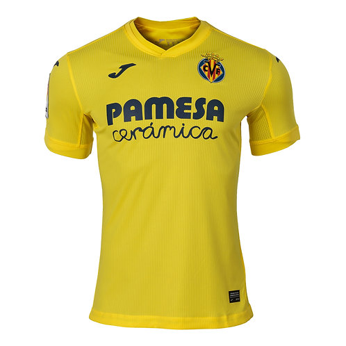 Villareal FC Authentic Home Jersey