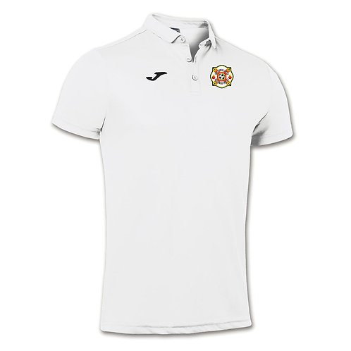 Florida Fire White Polo