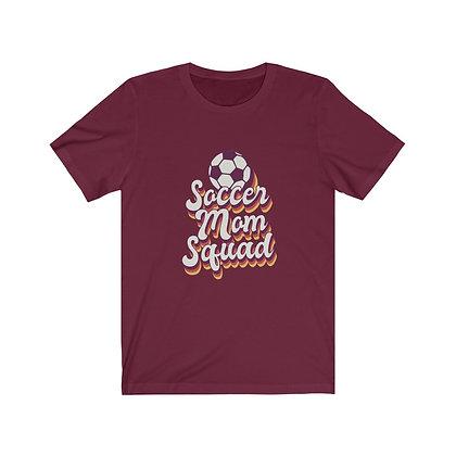 Soccer Mom Squad T-shirt / Soccer mom gift / Cool Soccer Tee - unisex